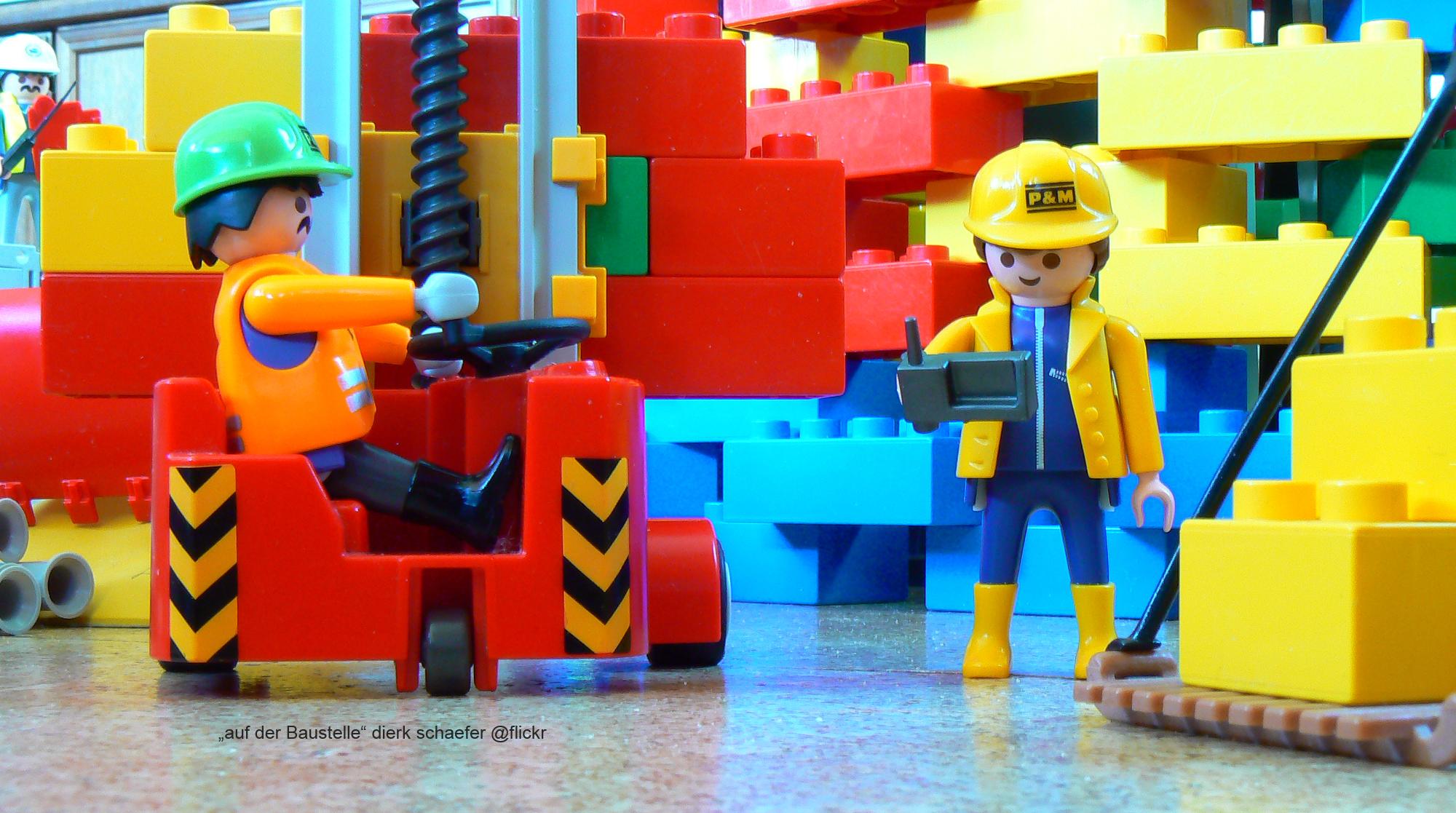 Baustelle Lego