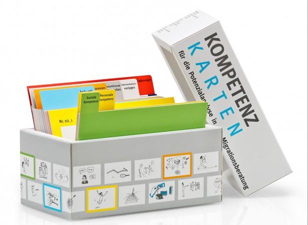 Kompetenz Karten Box
