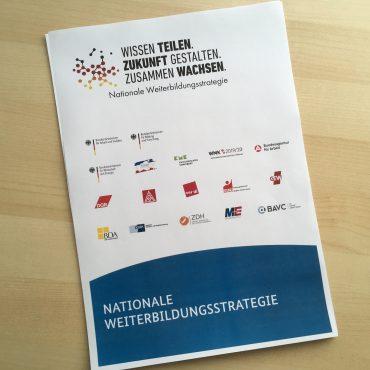 Nationale Weiterbildungsstrategie
